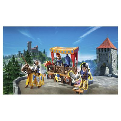 Playmobil 6695 Super 4 Royal Tribune with Alex