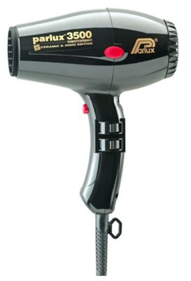 Parlux 3500 Super Compact Ceramic & Ionic 2000W Hair Dryer Black