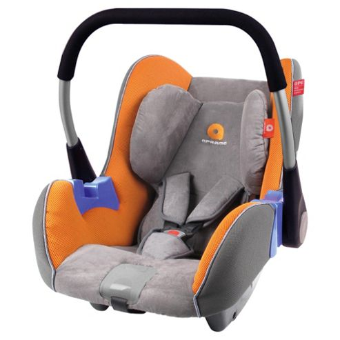 Apramo Gaia Car Seat, Group 0+, Orange