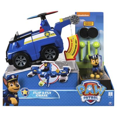 Paw Patrol Mission Paw - Flip & Fly Vehicle Chase