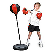 Toyrific Kids 72-108cm Boxing Punch Ball With Gloves & Stand