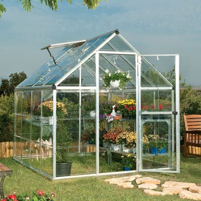 Palram Harmony 6x8ft Silver Greenhouse