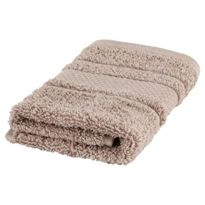 Finest Pima Cotton Face Cloth - Taupe