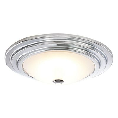 Contemporary and Stylish LED Bathroom Ceiling Light with Opal Glass