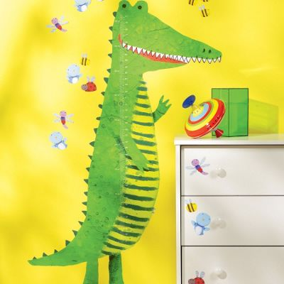 Crocodile Growth Chart Wall Sticker
