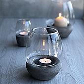 Concrete Storm Lantern - Medium