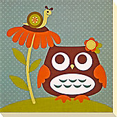 Owl & Friends Canvas Picture 2