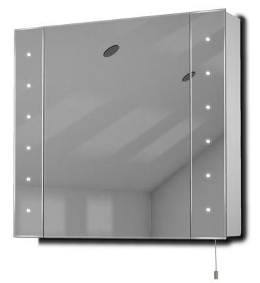 Buy Regal Led Illuminated Battery Bathroom Mirror Cabinet