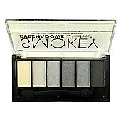 Technic Smokey 6 Colour Eyeshadow Palette