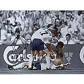Signed Paul Gascoigne England Football Large Photo Print - Gazza - COA - Spurs