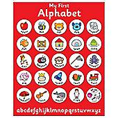 Indigo Magnetic My First Alphabet Chart