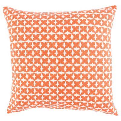 Ethnic Pattern Cushion Orange