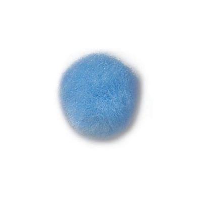 Impex Light Blue Pom Poms 35mm