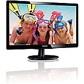 "Philips V-line 200V4LAB2 49.5 cm (19.5"") LED Monitor - 16:9 - 5 ms"