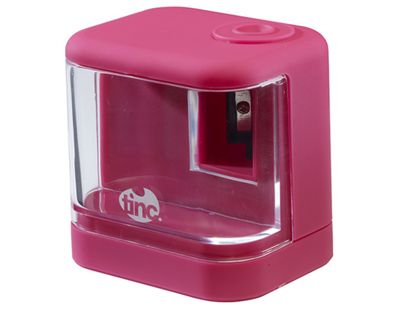 Tinc 'Touchy-Feely' Electric Battery-Operated Desktop Pencil Sharpener - Pink