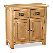 Zelah Oak Mini Sideboard - Rustic Oak