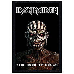 Iron Maiden Black Wooden Framed The Book Of Souls Poster