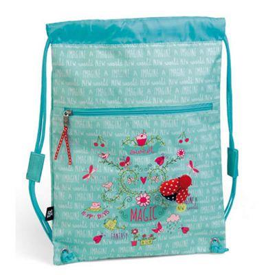 Children's PE Bag- Blue Ladybird, Children's Swimming Bags, Children's PE Bags, Children's Sports Bags