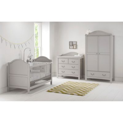 East Coast Toulouse Collection - Cot Bed, Wardrobe and Dresser