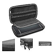 Orzly Carry Case for Nintendo 3DS XL or New 3DS XL- Black/Black