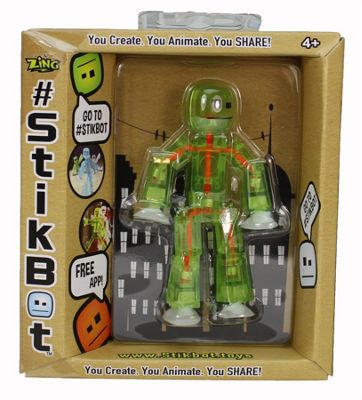 Stikbot GREEN & ORANGE