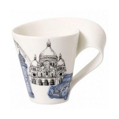 Villeroy and Boch NewWave Caffe Paris White Mug 0.35L