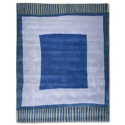 Anna V Rugs Big Blue Contemporary Rectangular Rug - 140cm x 180cm