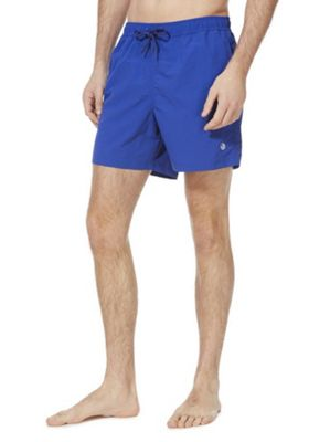 F&F Plain Quick Dry Swim Shorts Cobalt Blue 2XL