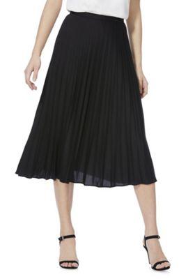 F&F Pleated Midi Skirt Black 20