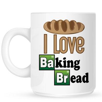 I Love Baking Bread 10oz Ceramic Mug