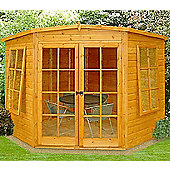 8x8 Corner Summerhouse By Finewood