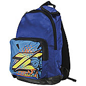 Mazon All Star Junior Sports Backpack with Adjustable Back Straps - Blue