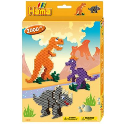 Hama Beads Dinosaurs Bead Set