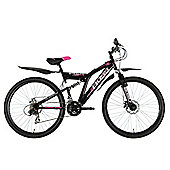 "Boss Stealth 26"" Mountain Bike Black and Pink"