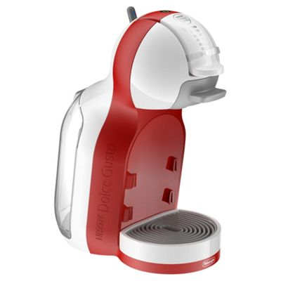 NESCAFE Dolce Gusto, Mini Me, Automatic Coffee Machine by De'Longhi - Red & White