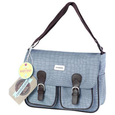 Constellation Mock Croc Baby Bag.