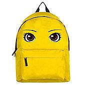 Anime Eyes Yellow Backpack
