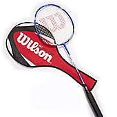 Wilson K Smash Badminton Racket With Cover