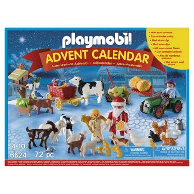 Playmobil 6624 Christmas On The Farm Advent Calendar With Santa