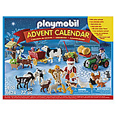 Playmobil 6624 Christmas On The Farm Advent Calendar With Santa