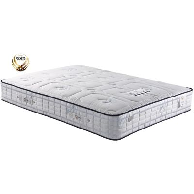 Sareer 2000 Pocketo Cool Blue Memory Foam Mattress - Medium - Single 3ft
