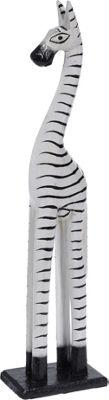 Fair Trade Wooden Freestanding Zebra 40cm