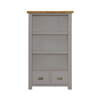 Cotswold Grey Painted Small Bookcase