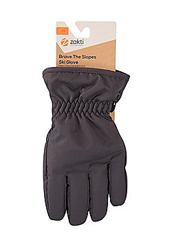 Zakti Zakti Kids Brave The Slopes Ski Gloves - Black