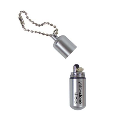 Yellowstone Keyring Fire Capsule With Petrol Refillable Lighter