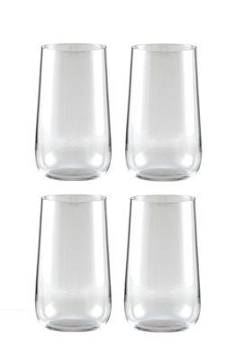 Jamie Oliver Vintage Set of 4 Highball Hiball Glasses 550ml