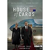 House Of Cards Season 3 DVD