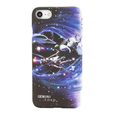 iPhone 7 Gemini Star Sign Glow In the Dark Slim Protective Phone Case - Multi