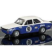 Scalextric Slot Car C3672 Ford Escort Mk1 - Allan Moffat