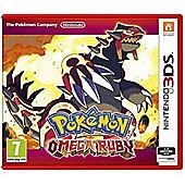 Pokemon Omega Ruby 3DS Game